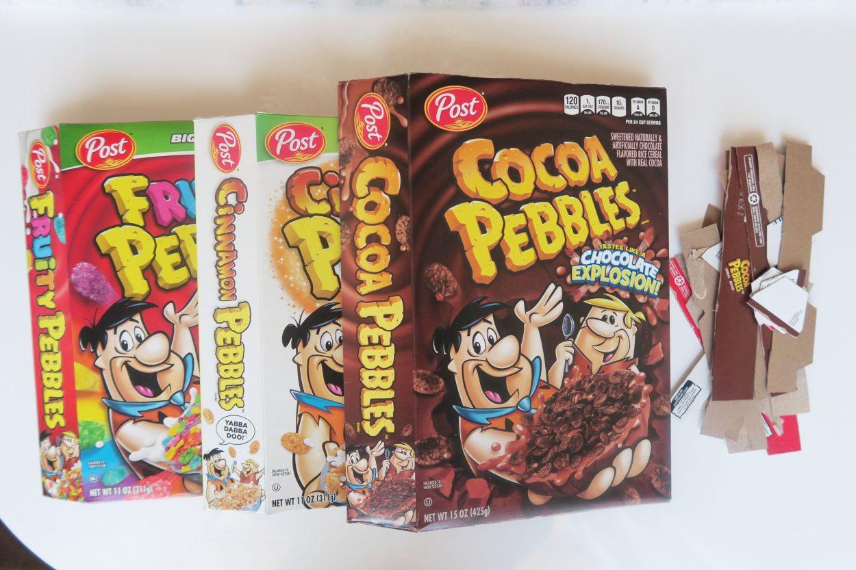 Diy Cereal Box Easter Basket Mom Spark Mom Blogger