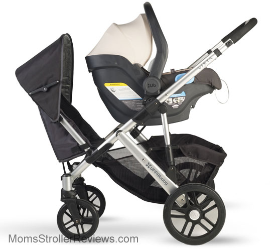Baby Chicco Dog Uppababy Vista Stroller Review Mom 39;s Stroller Reviews