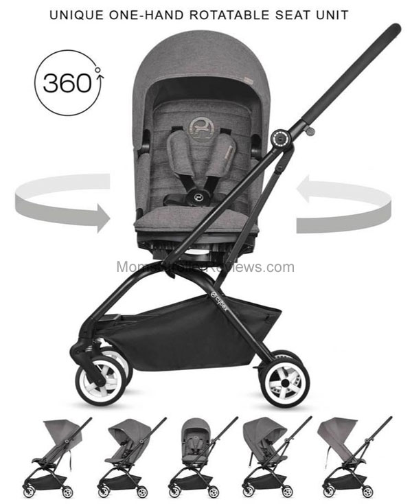 Stroller Bassinet Insert New Cybex Eezy S Twist 2018 Stroller Review Mom 39;s