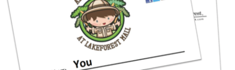 Adventure Kids Club Summer Series at LakeForest Mall