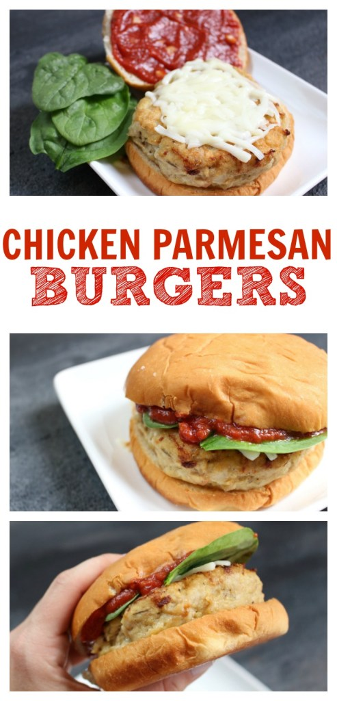 Chicken Parmesan Burgers - Mom to Mom Nutrition