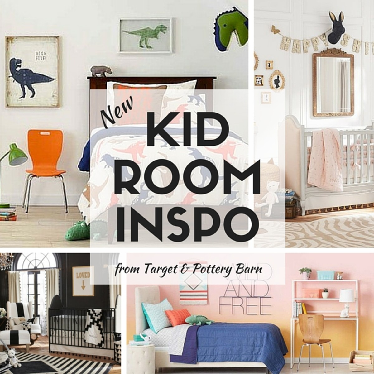 Kid Decor Inspiration From Target And Pottery Barn Momtrends