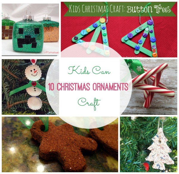 10 christmas ornaments kids can craft cash giveaway