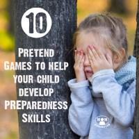 10 Pretend Games to Develop Preparedness Skills in Kids