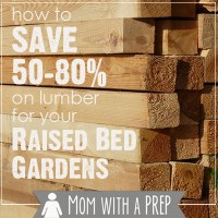 How to Save BIG on Lumber Supplies for your Square Foot Garden