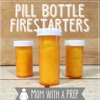 Get Your Kids Involved: How to Create Pill Bottle Firestarters