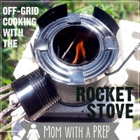 Off-grid Cooking with the Rocket Stove - SPECIAL OFFER
