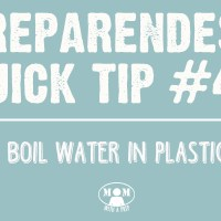 Preparedness Quick Tip #48: How to Boil Water in a Plastic Water Bottle