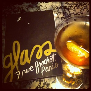 Le Glass bar à cocktails paris