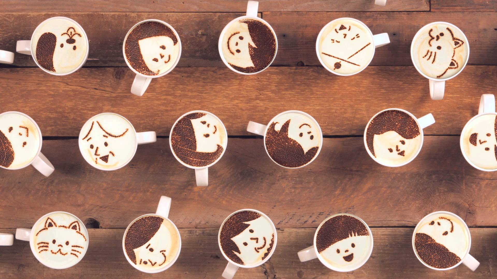 publicité maxim stick latte