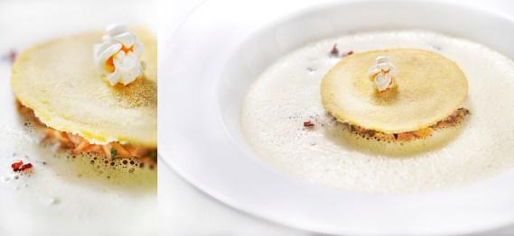 Fonds d'artichauts et foie gras