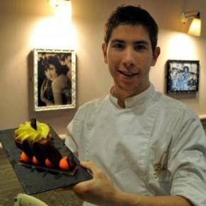 Mickaël Lussagnet, chef de partie en pâtisseries chez Alain Ducasse