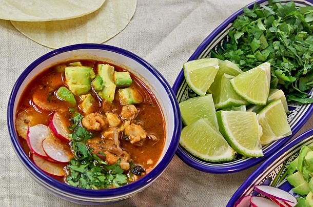 recette pozole mexique