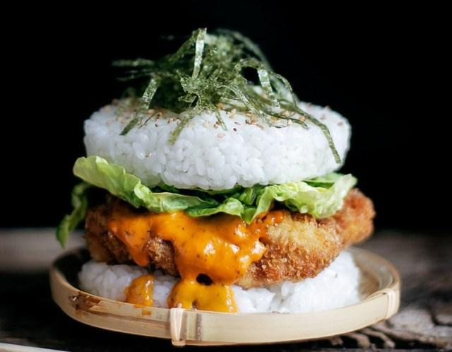 tendance sushi burger