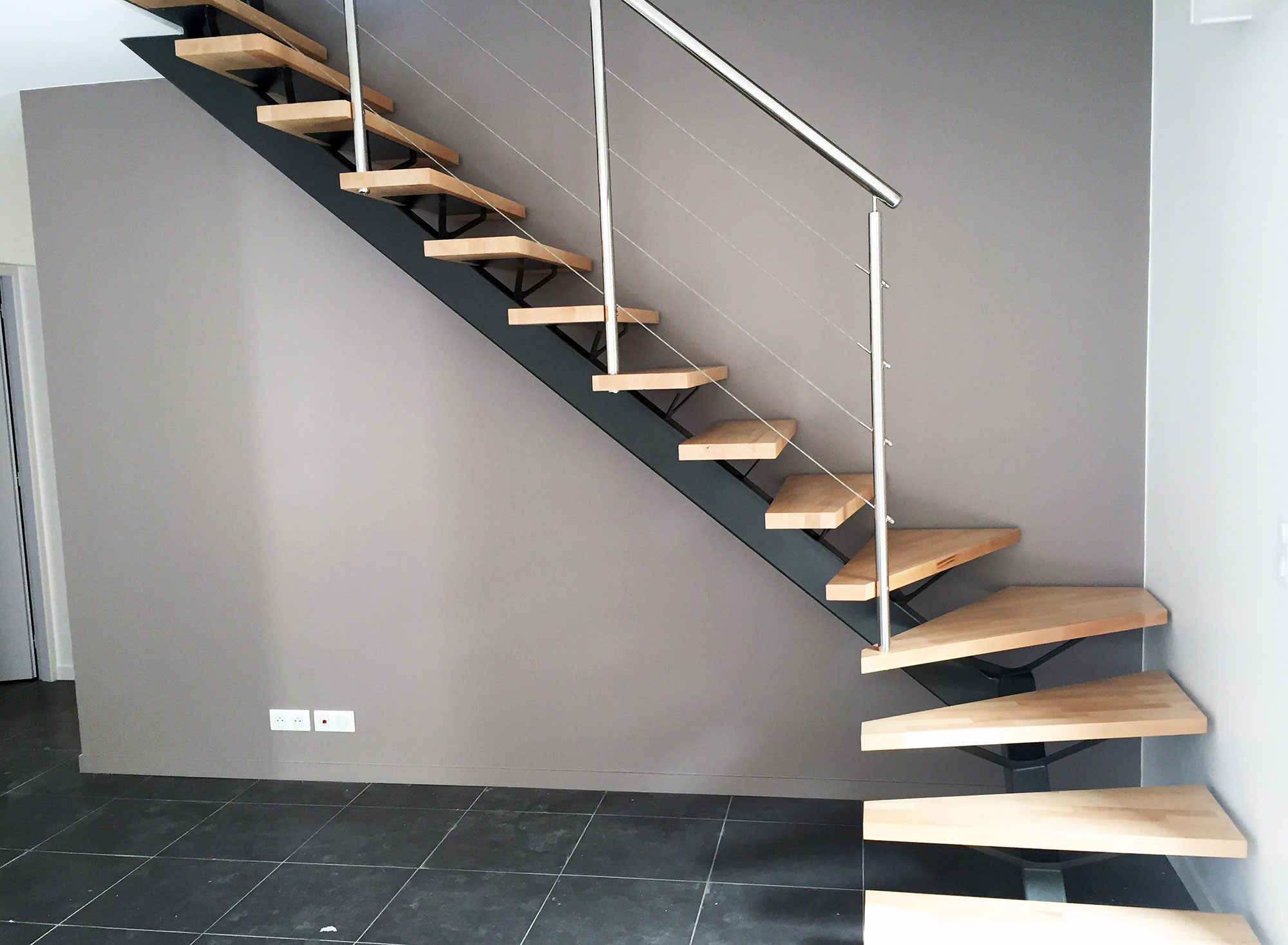 Escalier Metal Ark Escalier Metal Design Simple Escalier Design Metal Bois
