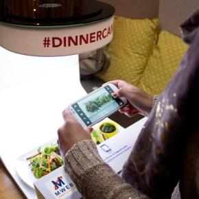 Un restaurant qui soutient Instagram