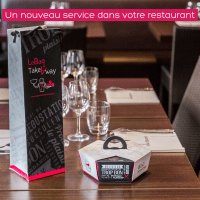 TakeAway, le doggy bag design et gourmet
