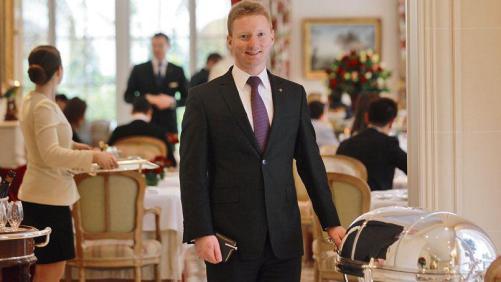 MOF maître d'hôtel 2015 Kevin Chambenoit