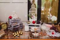 12 ides pour un joli buffet de mariage fait maison - Mon ...