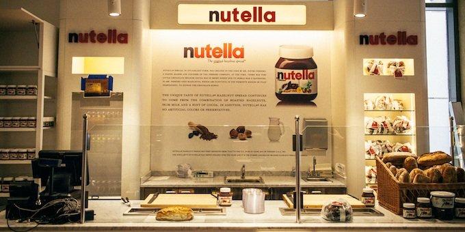 Bar à Nutella New-York