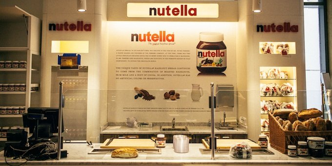 New-York : ouverture d'un bar à Nutella