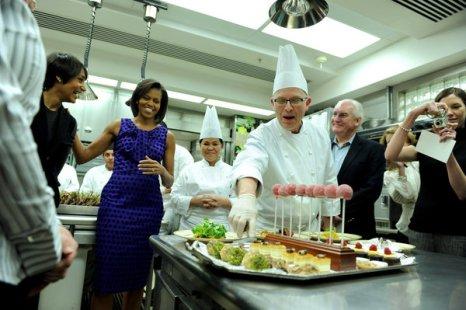 Pâtissier de la Maison Blanche