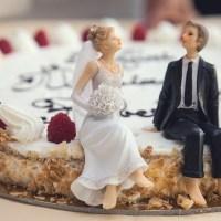 Un wedding cake tout en simplicité