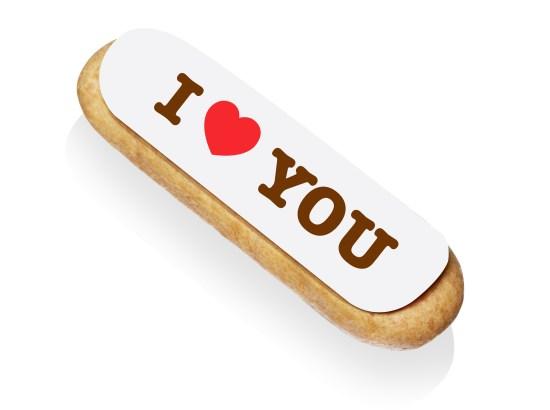 Éclair I Love You, L'Éclair de Génie, Saint Valentin, Christophe Adam, Pâtissier, Paris