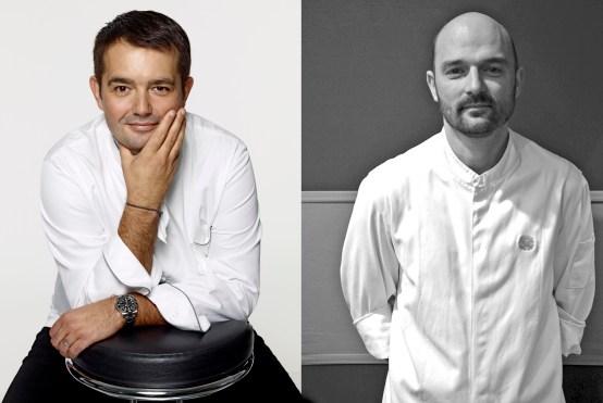 Jean-François Piège, Ludovic Chaussard, Gâteaux Thoumieux