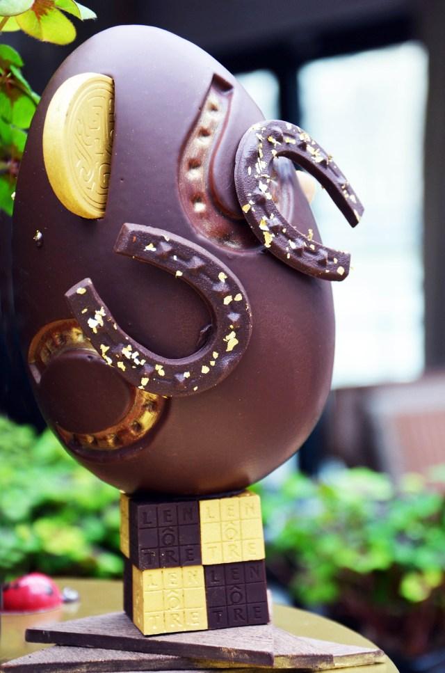 Lenôtre, Guy Krenzer, Pâques, nouvelle collection, chocolat, Œuf Lucky Charms