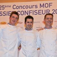 Résultat du Meilleur Ouvrier de France Pâtissier-Confiseur 2015
