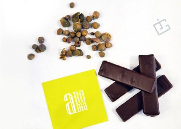 chocolats, câpres, Jacques Genin, Gabrio Bini, Julie Guinard, aRoma, épicerie,