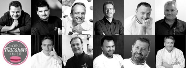Organisateurs, grande finale, Concours Macaron Amateur 2015, pâtissiers, chefs