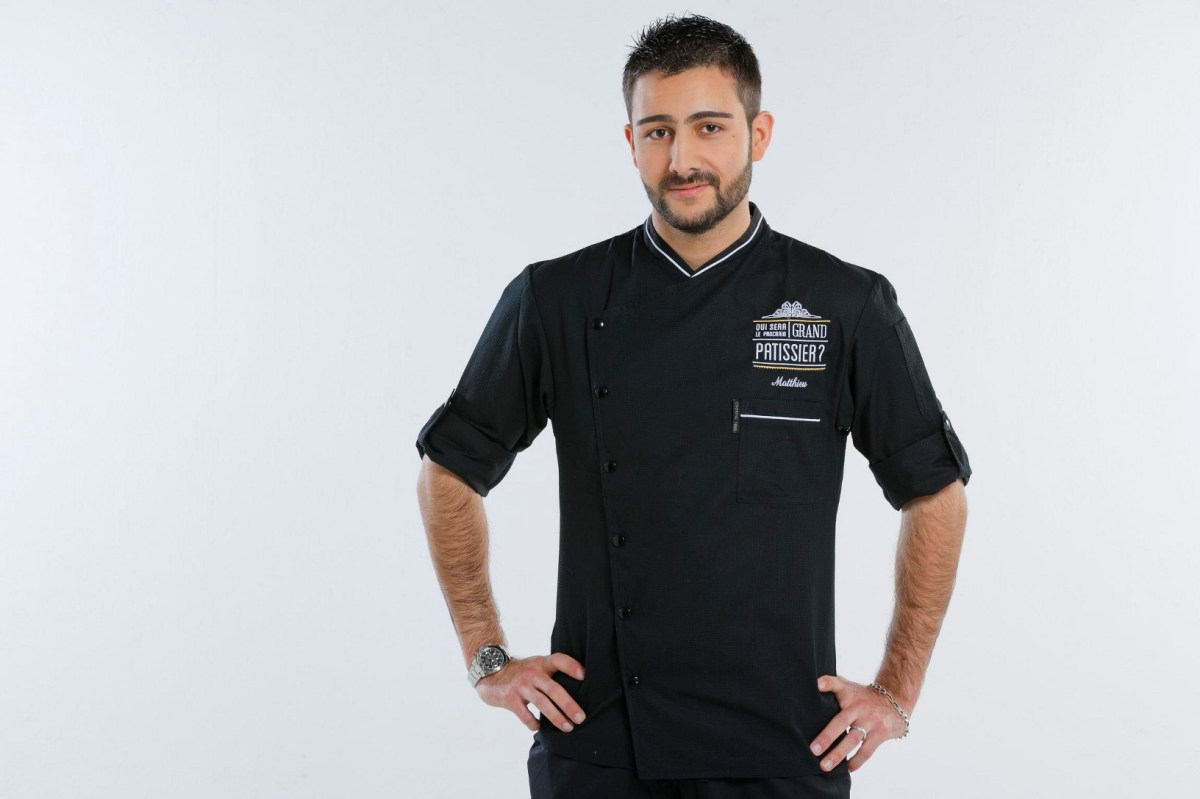 Matthieu Vidal, candidat de Qui sera le prochain grand pâtissier ?