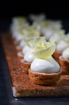 idee dessert bouchée sucrée pour reception