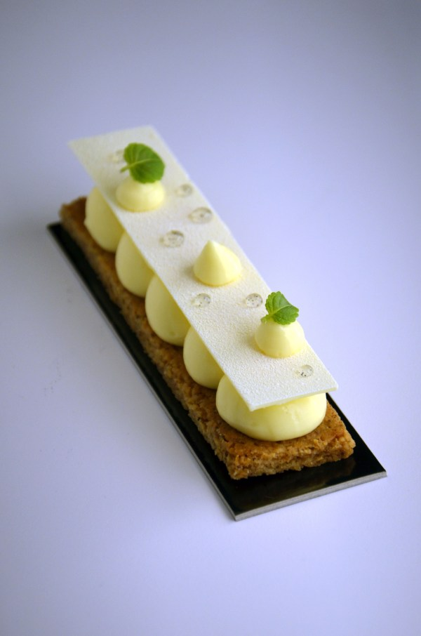 tarte citron contemporaine