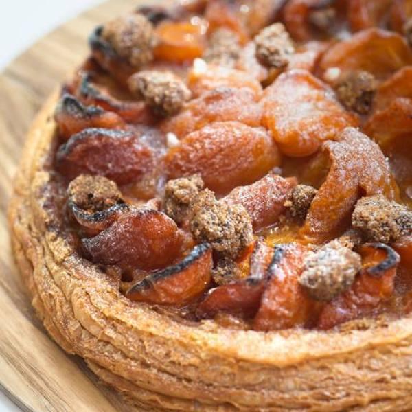 recette tarte feuilletée abricot