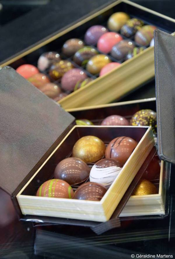 billes chocolat