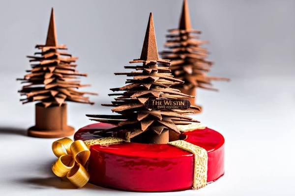 sapin en chocolat