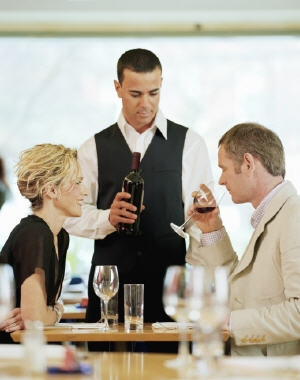 serveur restaurant