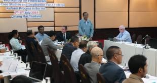 နာဲဟံသာ ဒုဥက္ကဌ UNFC အဃောသဳကၠဳမံၚ်ပ္ဍဲ Workshop မွဲ (ENAC Burma)