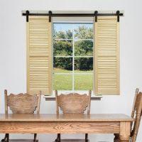 99+ Barn Door Window Designs - Attractive Interior Barn ...