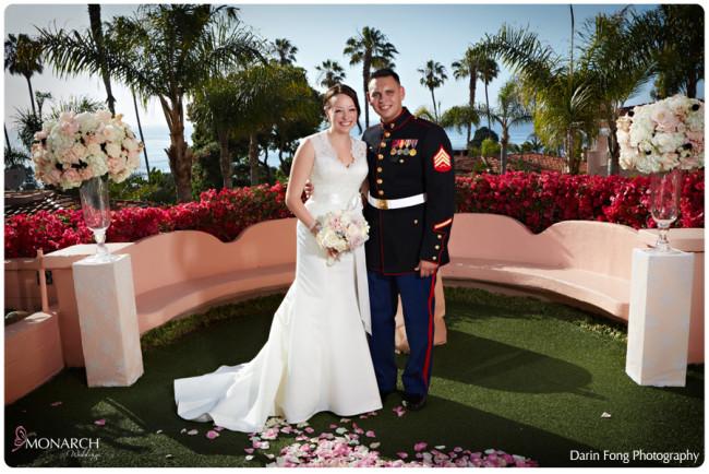 Beautiful Blush, Black and White Wedding at La Valencia San Diego