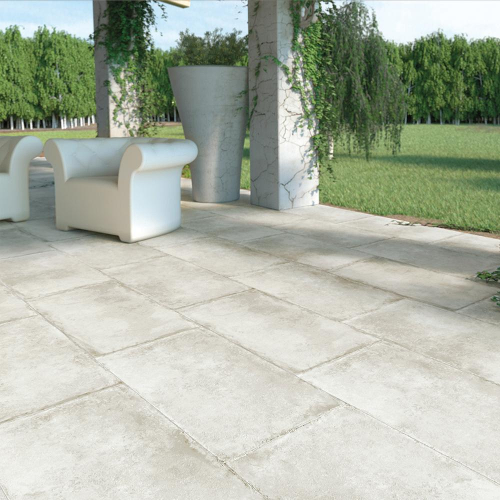Carreau Terrasse Carrelage Terrasse Anti Dérapant Effet Pierre 50x100 Olimpia Grip Naturel Collection Esedra Naxos