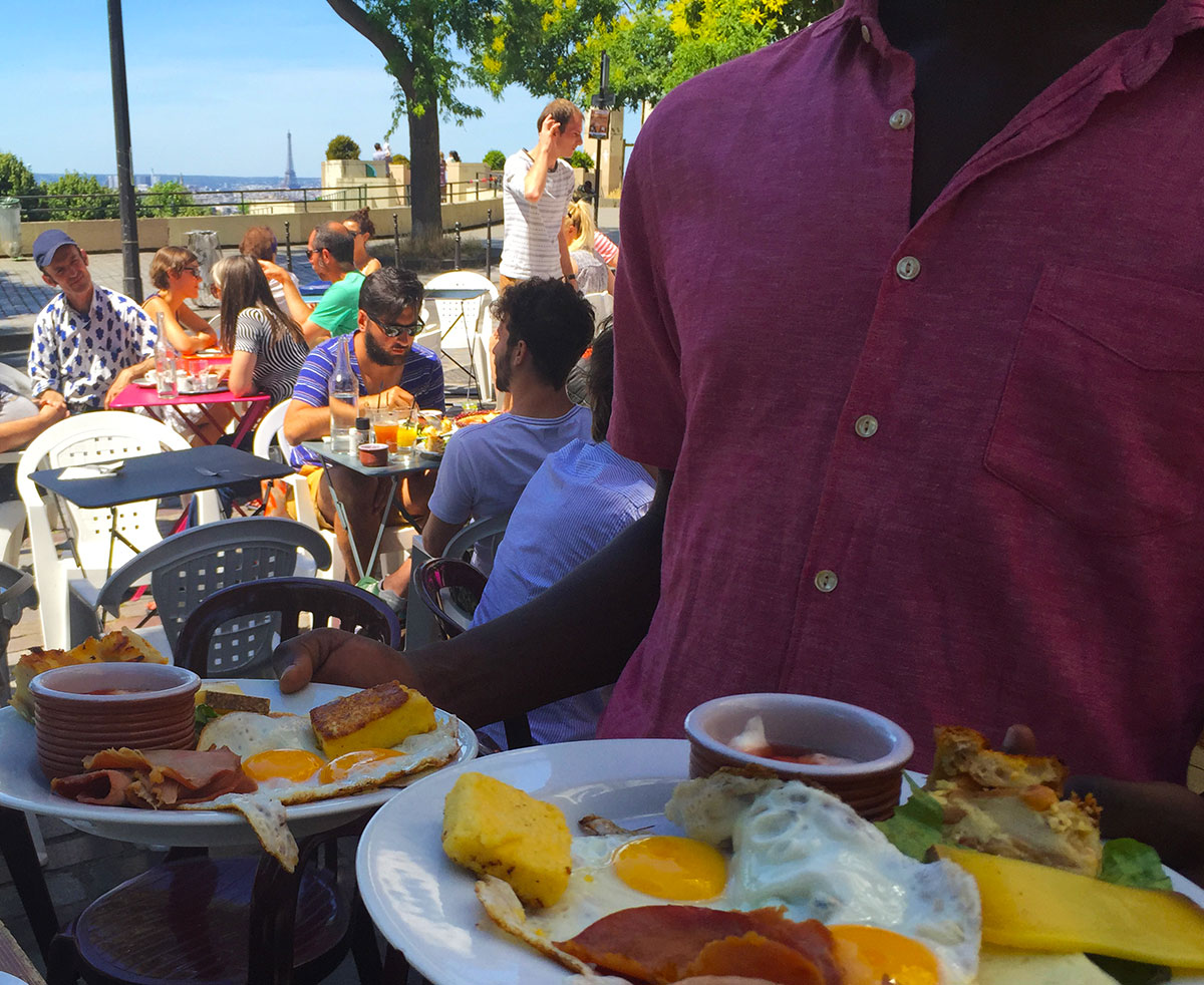 Brunch Paris Terrasse Sunday Brunch Paris Belleville Moncoeurbelleville