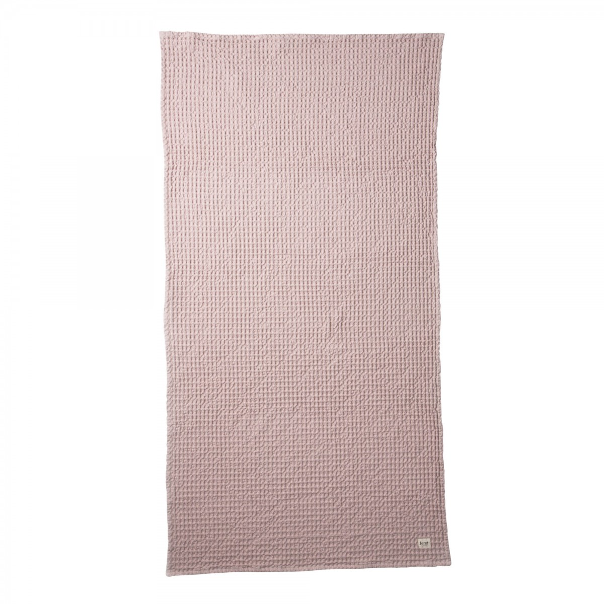 Pink Towels Pink Organic Bath Towel In Cotton Ferm Living