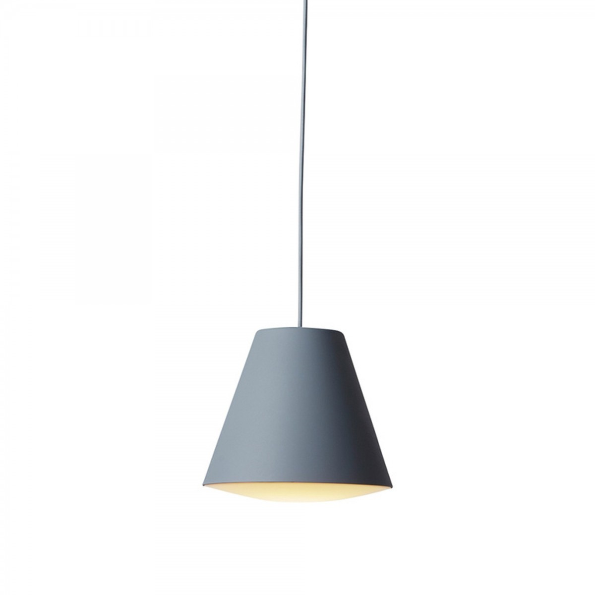 Hay Lamp Sinker Pendant Lamp Grey Small Wrong For Hay