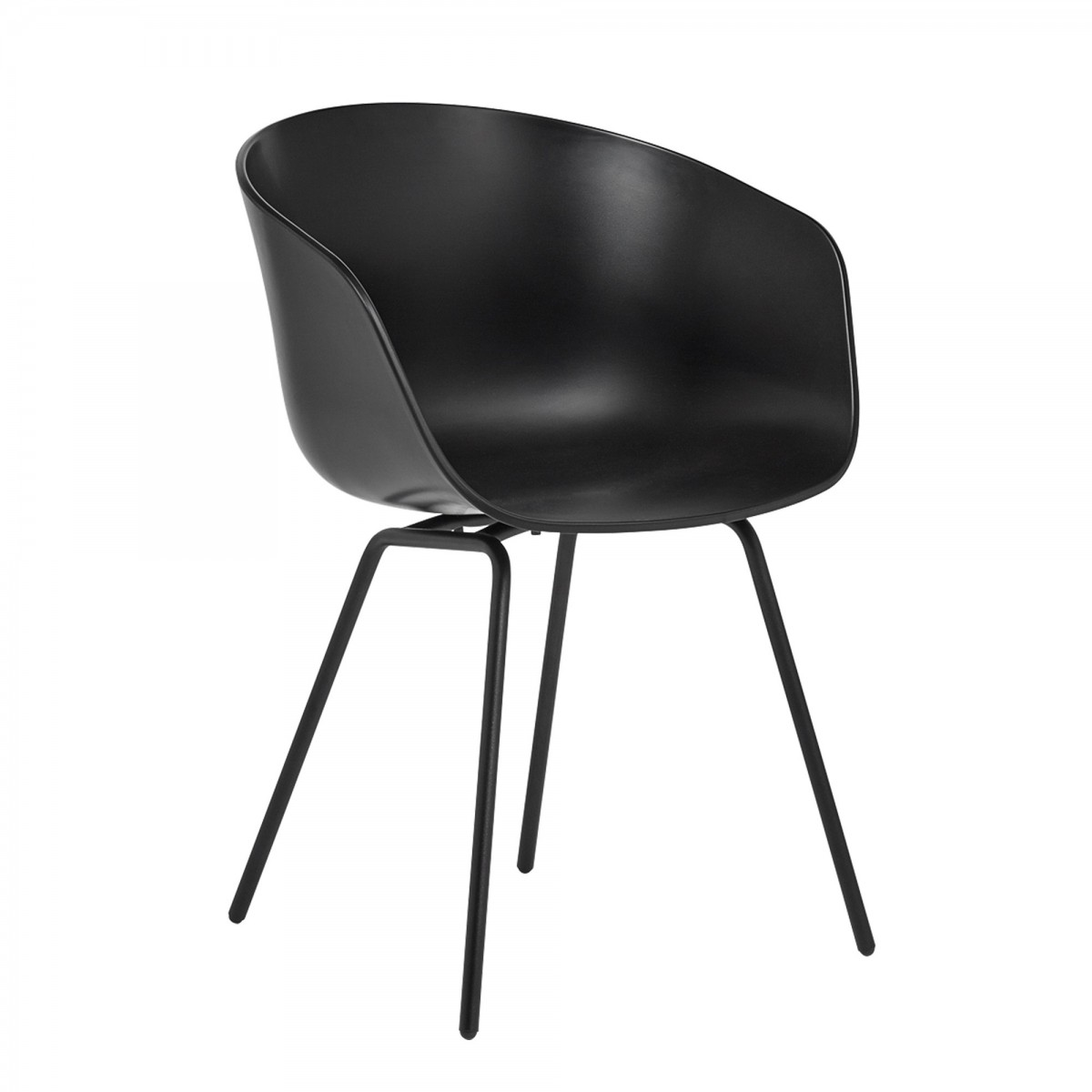 Furniture Chairs Black Aac 26 Black Chair Hay