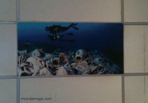 diorama bawah laut