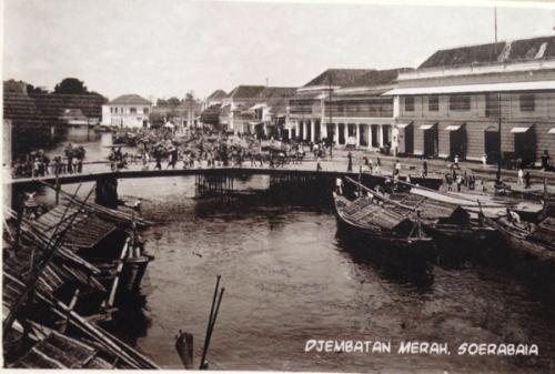 Kartu Pos Jembatan Merah Surabaya